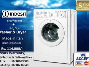 Indesit Ecotime IWDC 6105 Washer Dryer