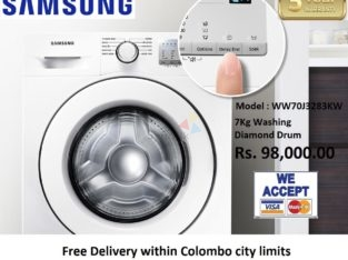 Samsung Front Loading with Diamond Drum