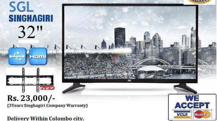 Singhagiri 32 inch HD LED TV