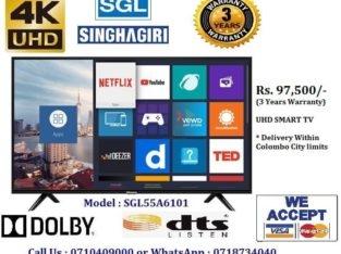 Singhagiri 55 Inch 4K UHD Smart LED TV