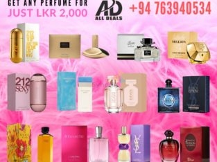 Woman's Exclusive Perfume