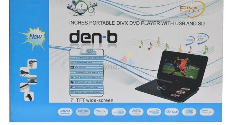 Den-B Portable DVD Player (7 inch)