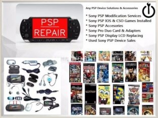 Sony PSP Modification Games & Repair