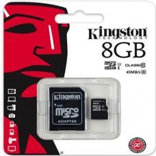 Kingston 8 GB Micro SD Card Class 10