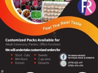 Food Packs – Customized