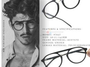 Premium Acetate Round Aviator Eyeglasses