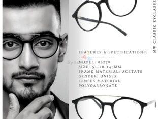 Acetate Round Aviator Eyeglasses