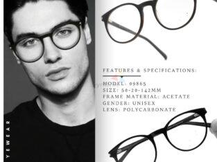 Premium Acetate Round Eyeglasses