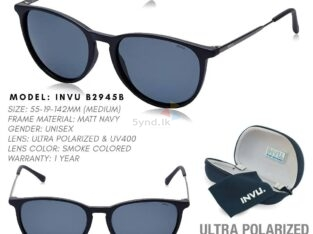 INVU Polarized Round Unisex Sunglasses