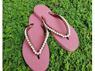 PEARL SLIPPERS