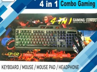 Jedel 4 in 1 Combo Gaming