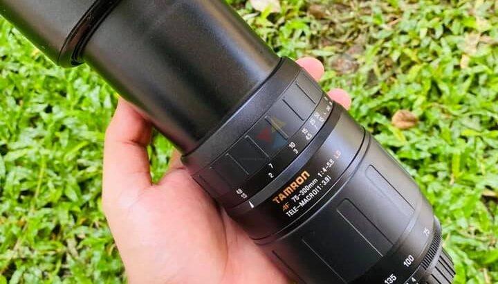 TAMRON Nikon Mount 75-300mm LENS