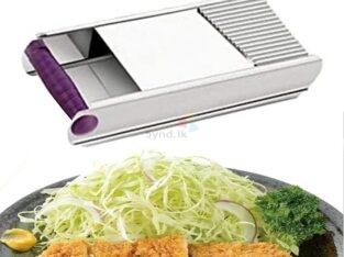 Kitchex Jumbo Stainless Steel Vegetable Slicer