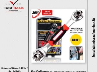 Universal Wrench 48 in 1