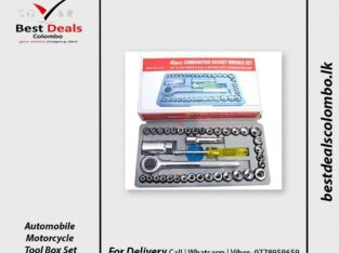 Automobile Motorcycle Tool Box Set