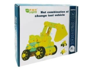 WOODEN VEHICLE-NUT COMBINATION