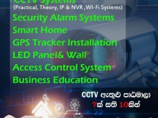 Learn and Earn CCTV and Security System
