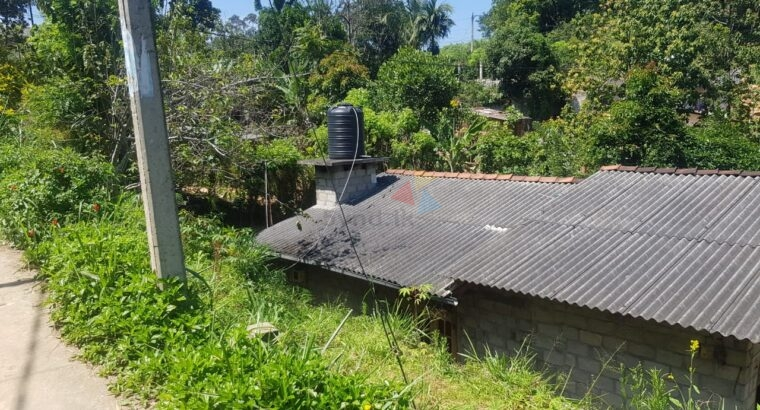 Land and House for Sale Welimada