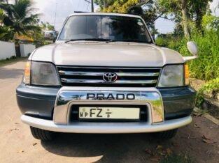 Toyota Prado TZ 2001 4WD Auto
