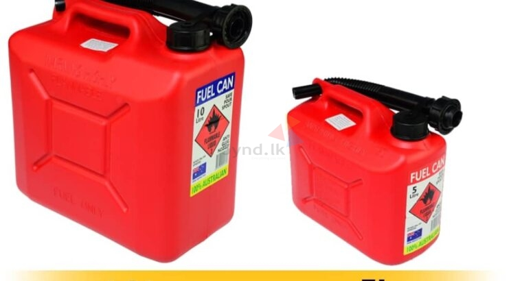 Red Jerry Can For Sale