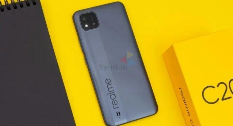 RealMe C20 New Phone