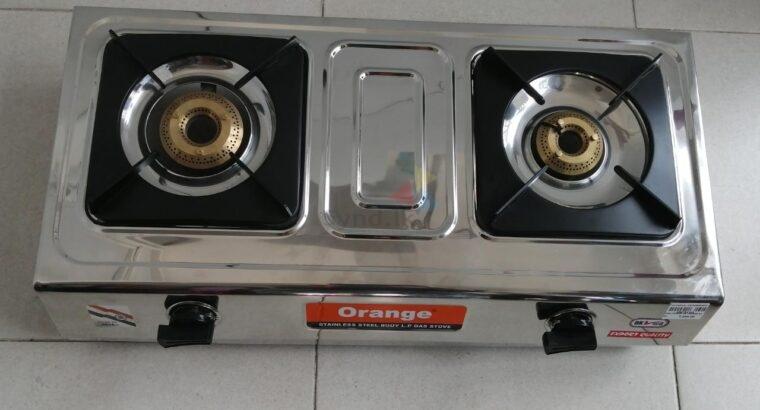 Gas cooker Spectra 201 Orange