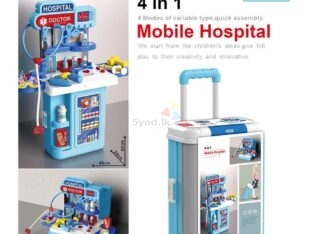 Mobile Hospital Toy Set
