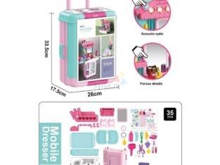 Mobile Dresser Makeup Toy Set