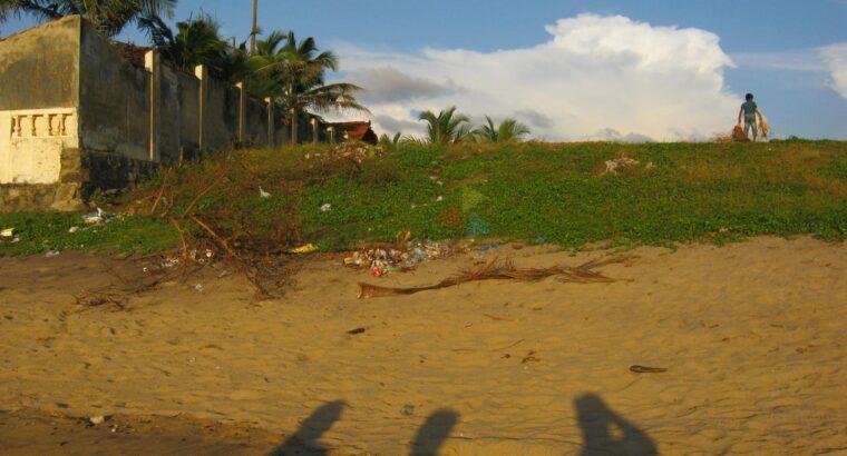 Ocean Front Land For Sale In Negombo