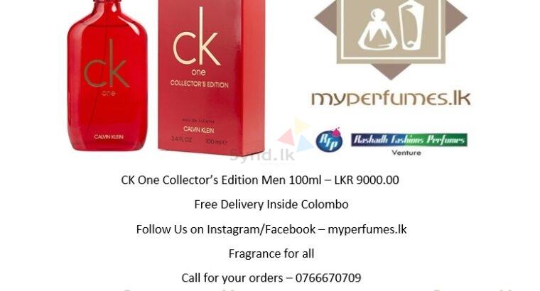 CK One Collector s Editi 100ML