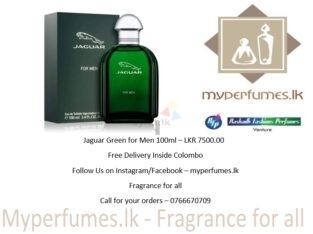 Jaguar Green For Men 100ML