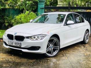BMW F30 316i Car For Sale