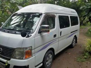 Van For Hire Nissan caravan E2