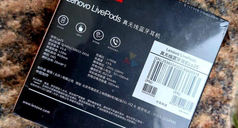 LENOVO LIVEPODS LP2S