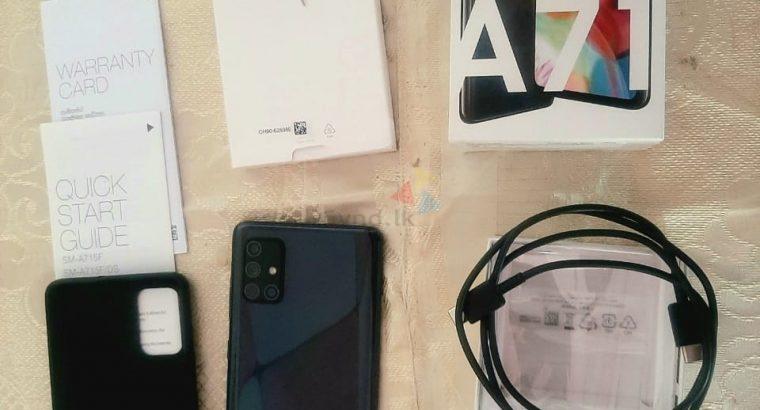 Samsung Galaxy A71 Used